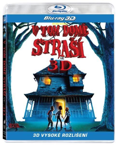 V tom domě straší! - 2D+3D (BLU-RAY)