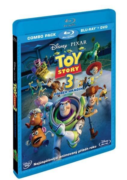 Toy Story 3: Příběh hraček COMBO (BLU-RAY+DVD)