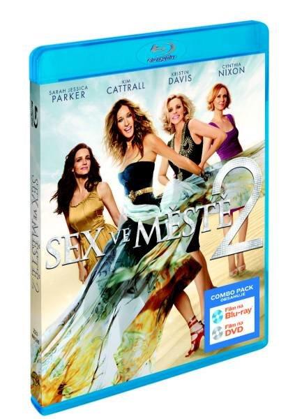 Sex ve městě 2 (FILM) - COMBO (BLU-RAY + DVD)