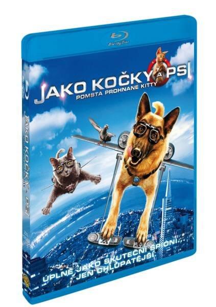 Jako kočky a psi: Pomsta prohnané Kitty COMBO (BLU-RAY+DVD)