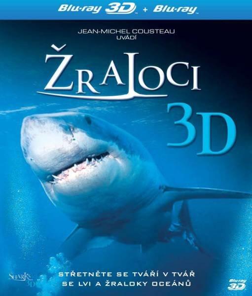 Žraloci 2D + 3D (BLU-RAY) - IMAX