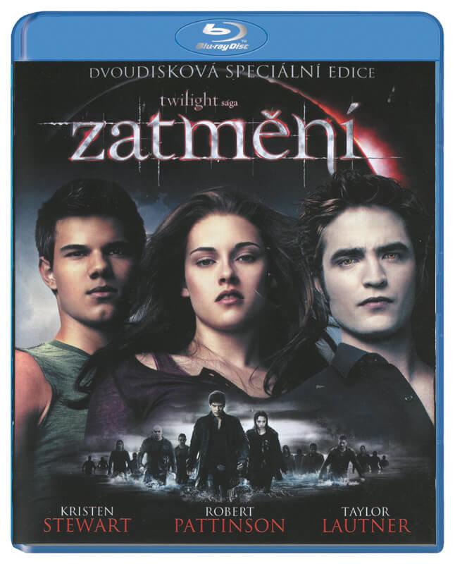 Zatmění: Twilight sága (1xBLU-RAY+1xBONUSOVÉ DVD)