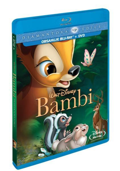 Bambi COMBO (BLU-RAY+DVD) - diamantová edice