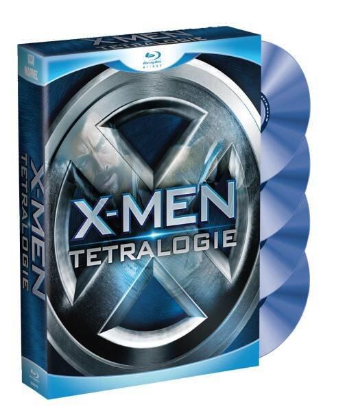 X-Men 1-4 - Tetralogie (4 BLU-RAY)