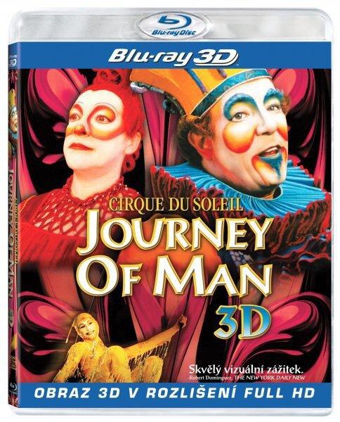 Cirque du Soleil: Journey of Man 2D + 3D (BLU-RAY) - české titulky