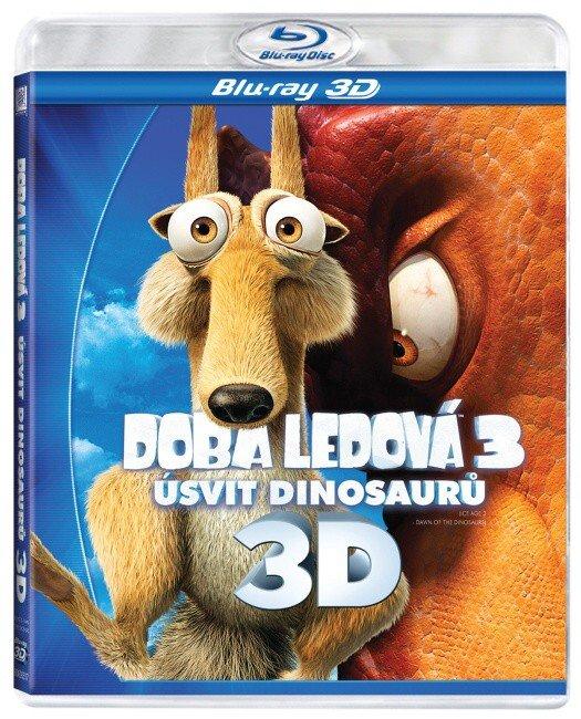 Doba ledová 3 - Úsvit dinosaurů (3D BLU-RAY)