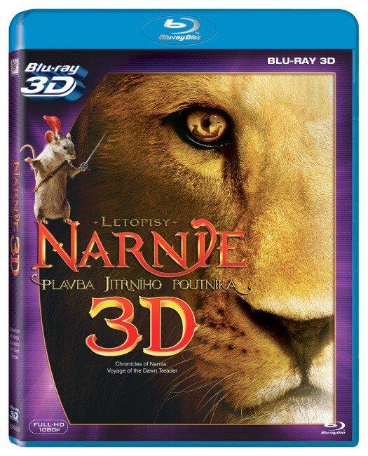 Letopisy Narnie: Plavba Jitřního poutníka (2D+3D) (BLU-RAY)