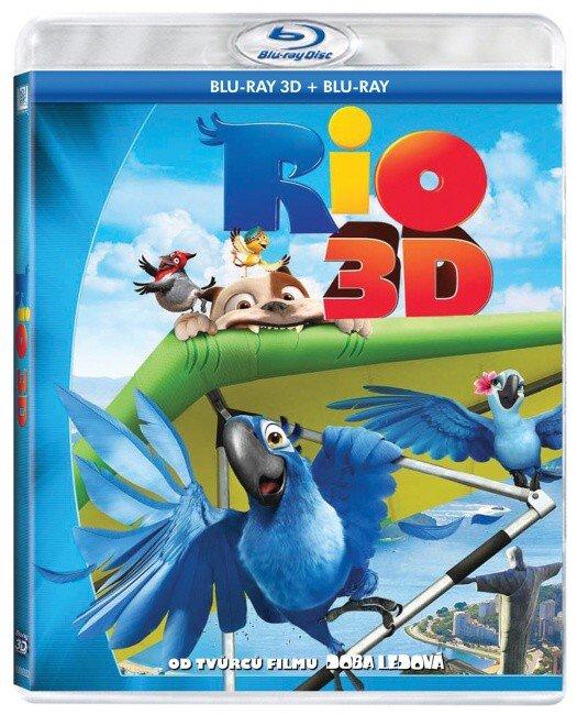 Rio (2D+3D) (BLU-RAY)