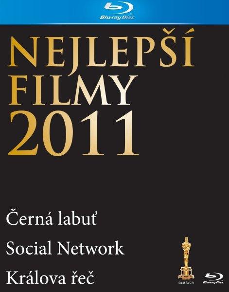 3 Nejlepší filmy roku 2011 kolekce (Králova řeč, Social Network, Černá labuť) (4 BLU-RAY)