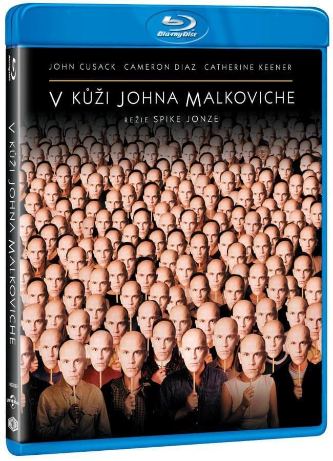V kůži Johna Malkoviche (BLU-RAY)