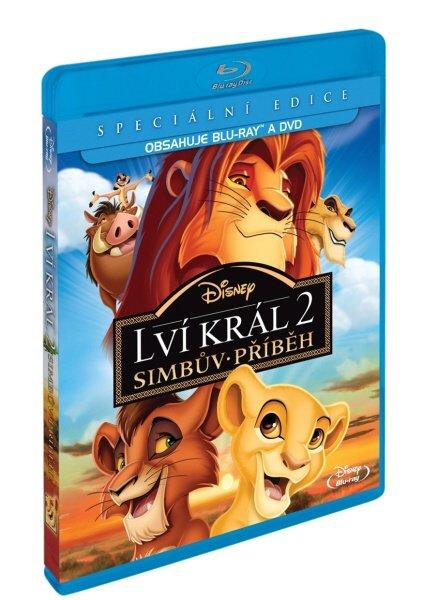 Lví král 2: Simbův příběh COMBO (BLU-RAY+DVD)