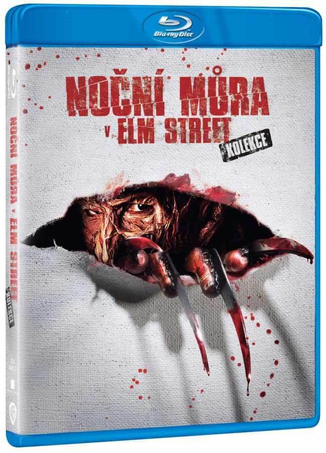 Noční můra v Elm Street 1+2+3+4+5+6+7 + DVD BONUS - 4xBLU-RAY