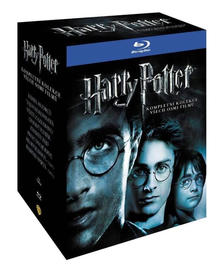 Harry Potter 1-7 kolekce - 11xBLU-RAY (český dabing)