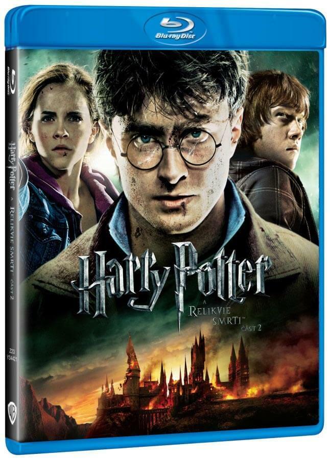 Harry Potter a Relikvie smrti - 2. část - 2xBLU-RAY