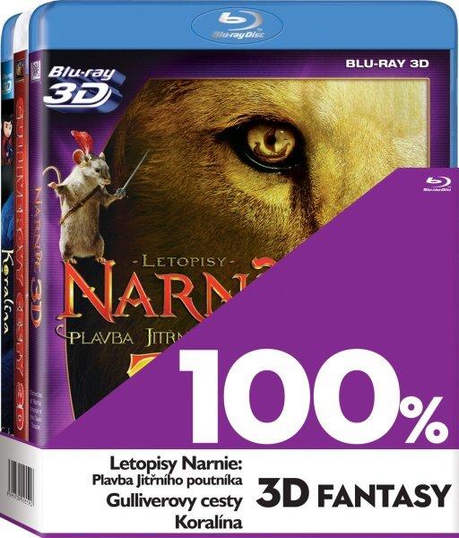 3x 3D Fantasy Kolekce BLU-RAY