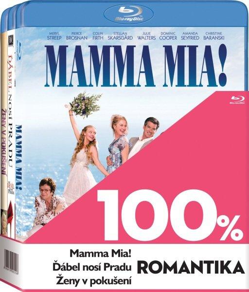 100% romantika kolekce (3BLU-RAY)