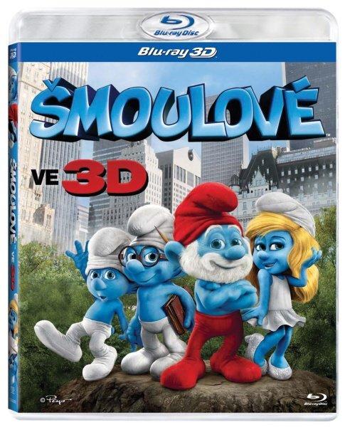 Šmoulové (FILM) 2D + 3D (BLU-RAY)