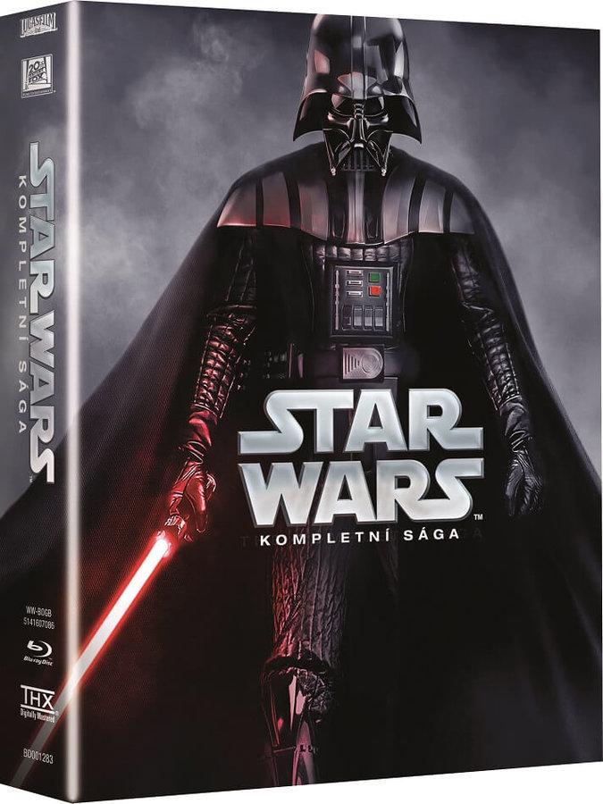 STAR WARS: Kompletní sága, 9xBlu-ray