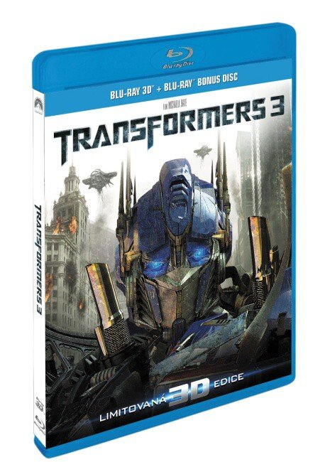 Transformers 3 (3D BLU-RAY + 2D BONUS BLU-RAY)