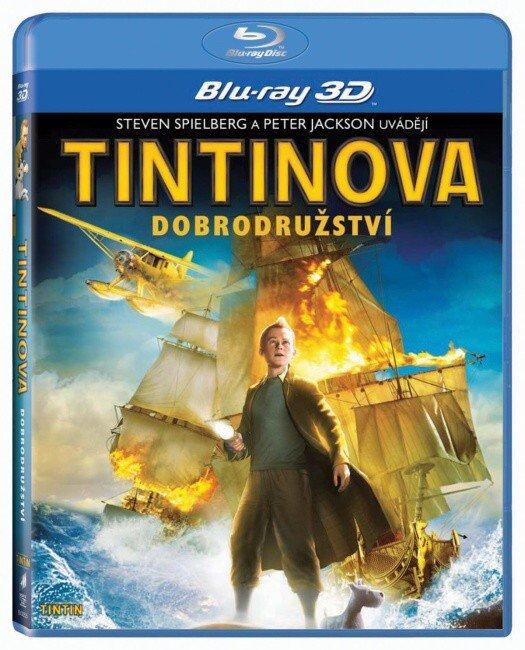 Tintinova dobrodružství - 2D + 3D (BLU-RAY)