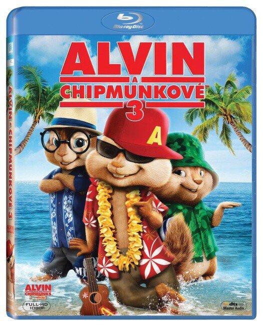 Alvin a Chipmunkové 3 (BLU-RAY)