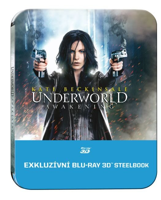 Underworld: Probuzení (2D + 3D) (BLU-RAY 3D+BLU-RAY) - STEELBOOK