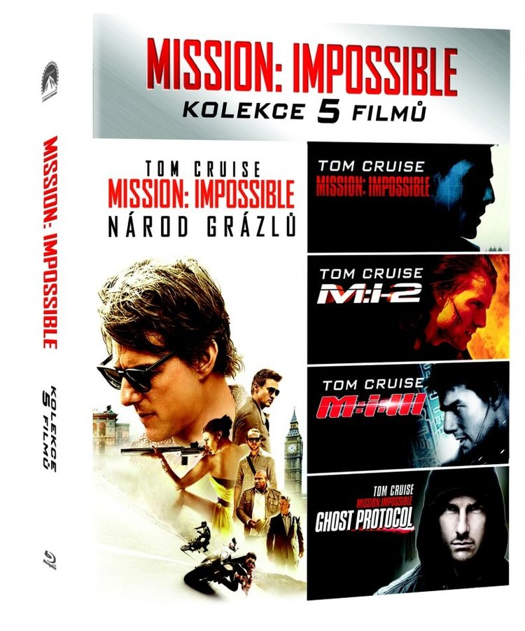 Mission: Impossible kolekce 1-5 - 5xBLU-RAY