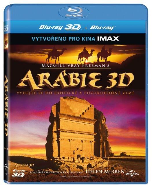 Arábie 2D + 3D (BLU-RAY) - IMAX