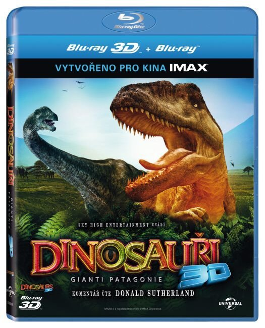 Dinosauři: Giganti Patagonie 2D + 3D (BLU-RAY) - IMAX