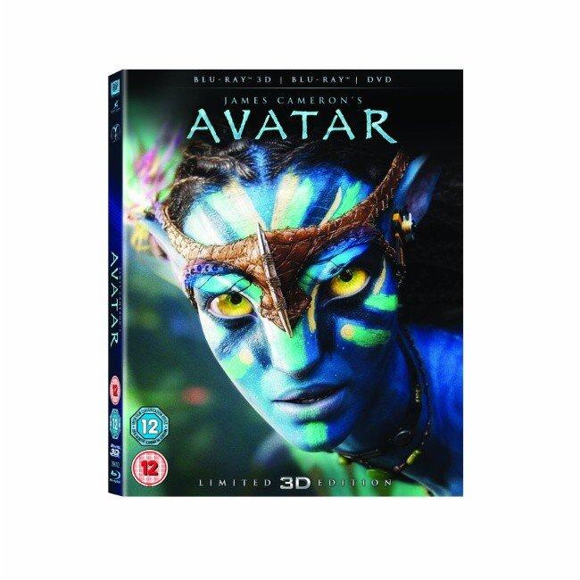 AVATAR 3D (3D,2D Blu-ray + 2D DVD)