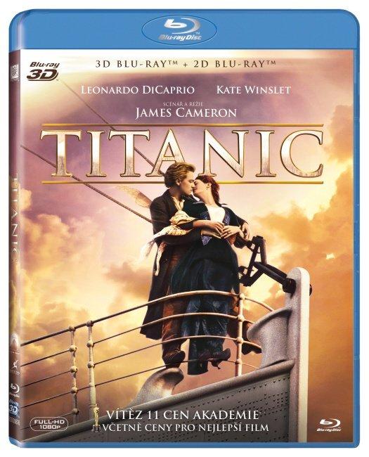 Titanic - 2D+3D (BLU-RAY) - 4 BLU-RAY