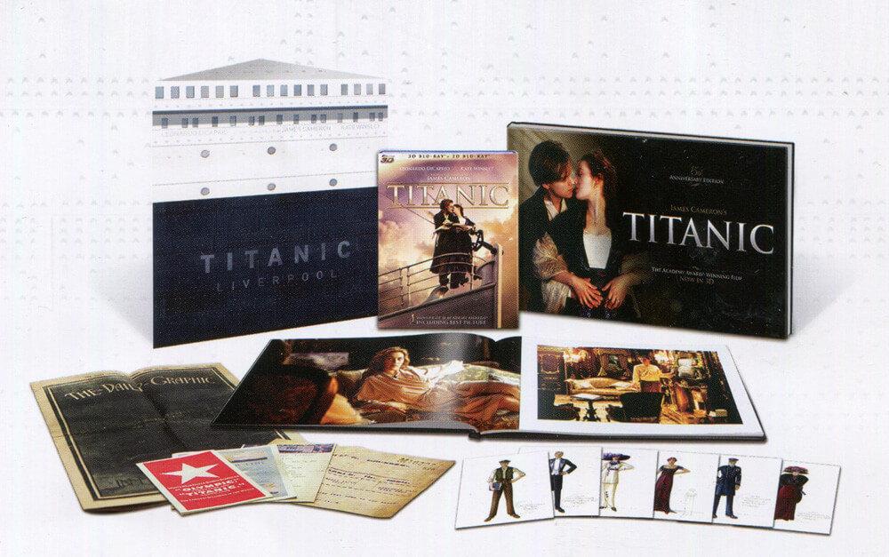 Titanic (4xBLU-RAY) - speciální limitovaná edice