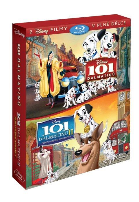 101 Dalmatinů kolekce - 2xBLU-RAY