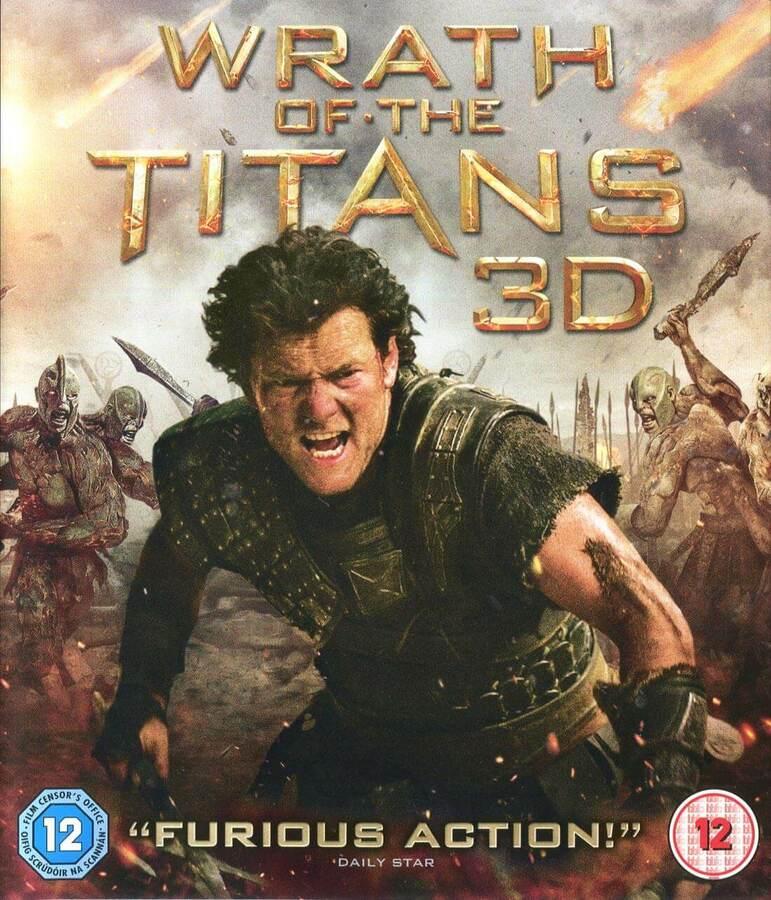 Hněv Titánů - 2D + 3D (BLU-RAY)