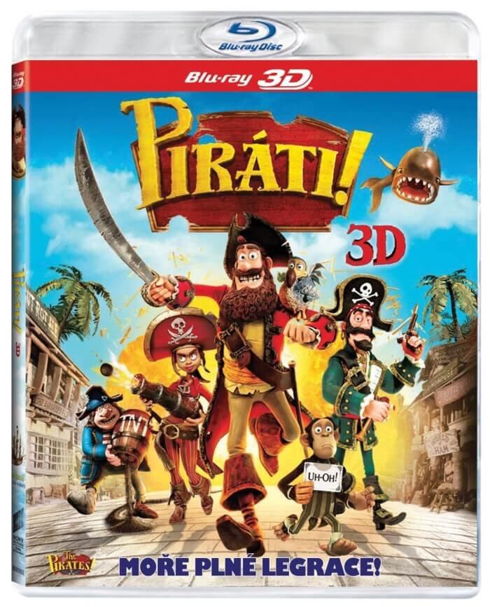Piráti - 2D + 3D (BLU-RAY)