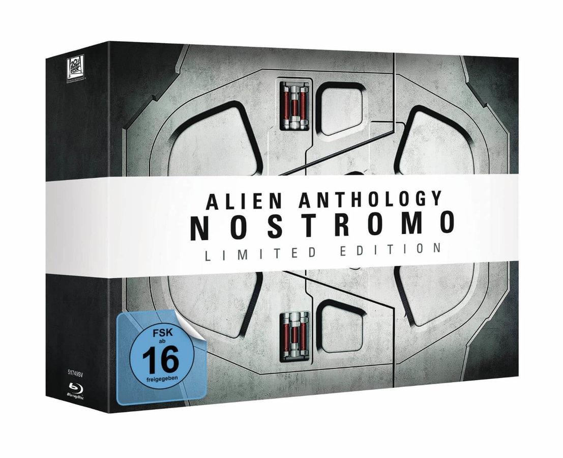 Vetřelci Anthology - kolekce (NOSTROMO SPACE DOORS) (6xBLU-RAY) - edice k 35. výročí