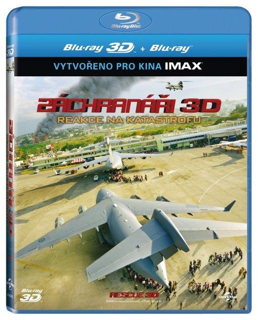 Záchranáři - 2D + 3D (BLU-RAY) - IMAX