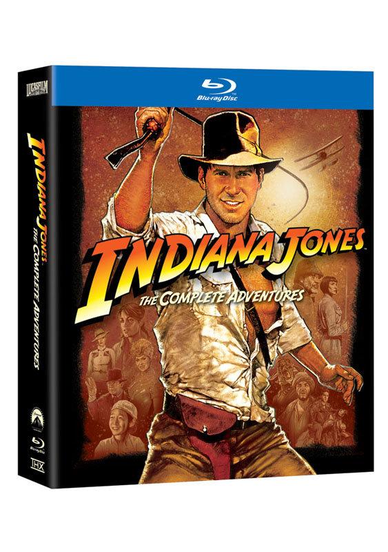 Indiana Jones: kompletní kolekce - 5xBLU-RAY