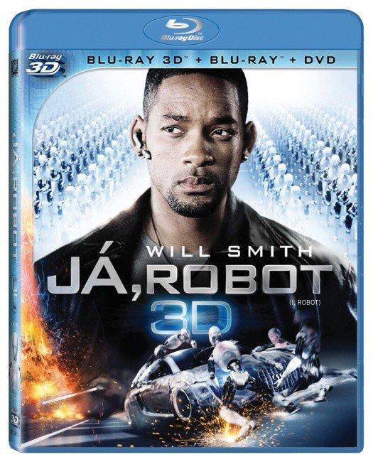 Já, robot - COMBO - 2D + 3D (BLU-RAY+2D DVD)