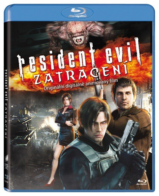 Resident Evil: Zatracení (BLU-RAY) - animovaný