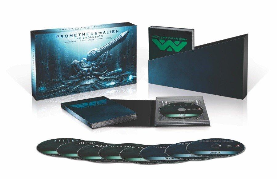 Prometheus to Alien: The Evolution Box Set (9xBLU-RAY)
