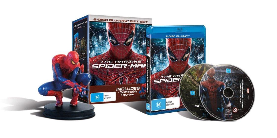 Amazing Spider-Man - 2D + 3D (BLU-RAY) + figurka Spider-Man