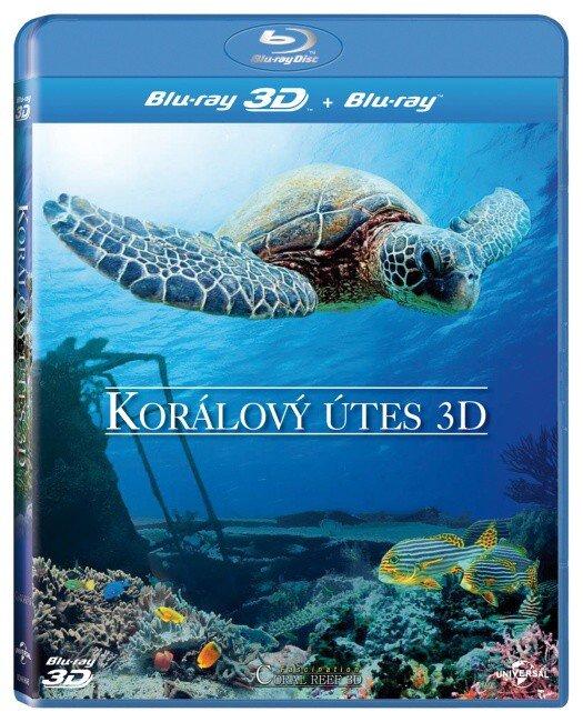Korálový útes - 2D + 3D (BLU-RAY)