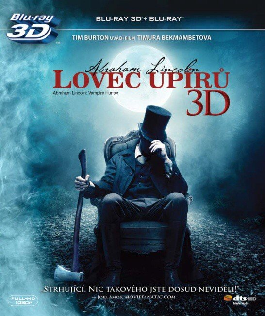 Abraham Lincoln: Lovec upírů - 2D + 3D (BLU-RAY)