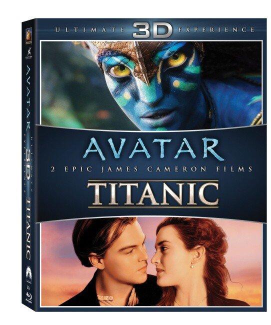Avatar 3D & Titanic 3D - kolekce - 2D + 3D (BLU-RAY)