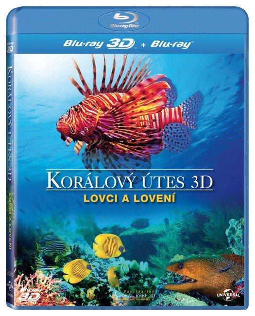 Korálový útes - Lovci a lovení - 2D + 3D (BLU-RAY)