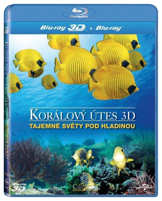 Korálový útes - Tajemné světy pod hladinou - 2D + 3D (BLU-RAY)