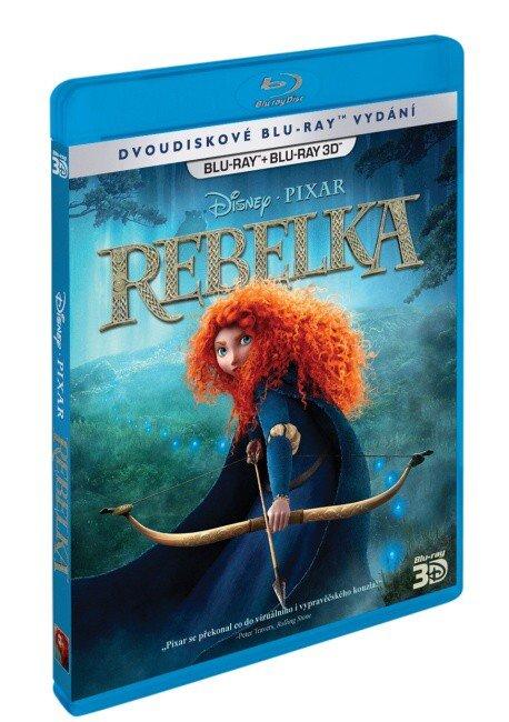 Rebelka 2D + 3D (BLU-RAY)