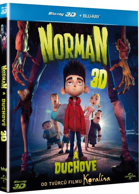 Norman a duchové - 2D + 3D (BLU-RAY)