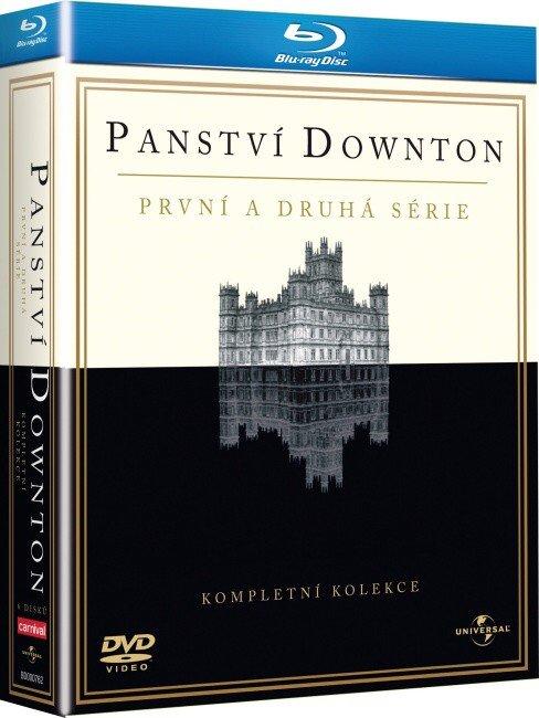 Panství Downton 1.-2. série (6 BLU-RAY)
